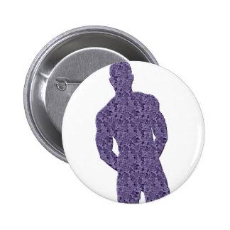 Man Posing Button