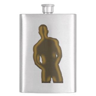 Man Posing Flask