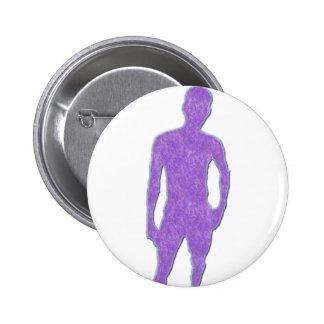 Man Posing Pin