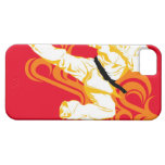 Man practicing martial arts, performing mid air iPhone SE/5/5s case