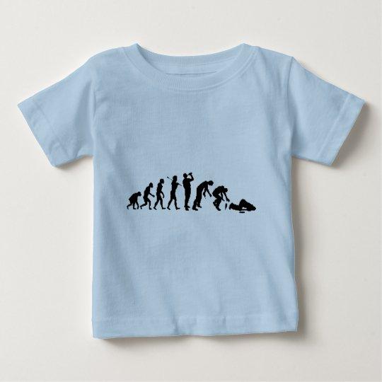 Man Progress Baby T-Shirt
