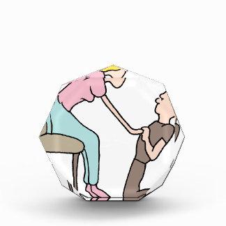 Man proposing marriage award