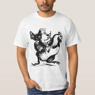 Man racing on a chicken T-Shirt