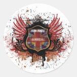 Man Raze Crest Sticker
