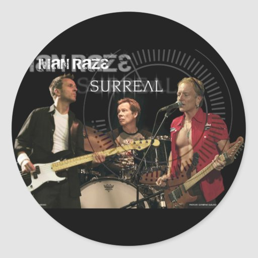 Man Raze Group 2 Sticker