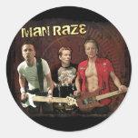 Man Raze Group Sticker