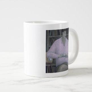 Man Reading 1998 Giant Coffee Mug