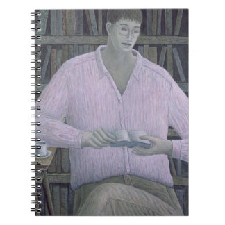 Man Reading 1998 Notebook