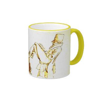 Man Reading - sketch Coffee Mug
