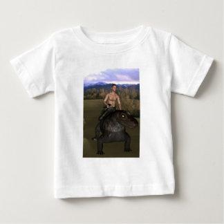 Man Riding Reptile 3 Shirt Infant