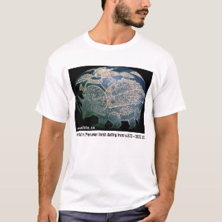 Man Riding Triceratops T-Shirt