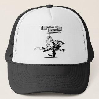 Man Ringing Liberty Bell Trucker Hat