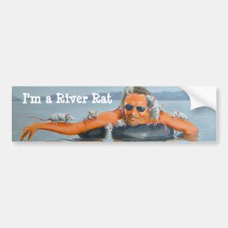 Man River Rats Bumper Sticker