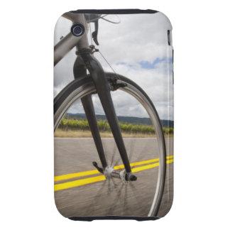 Man road biking at high speed POV iPhone 3 Tough Covers