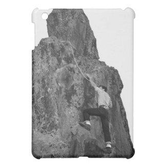 Man Rock Climbing iPad Mini Case