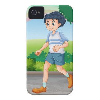 Man running Case-Mate iPhone 4 cases