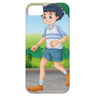 Man running iPhone 5 cases
