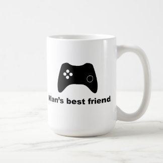 Man's Best Friend Funny Gamer Mug