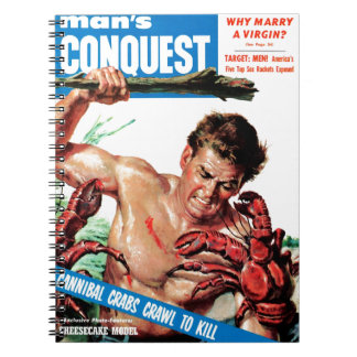 Man s Conquest - Cannibal Crabs Spiral Note Book