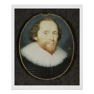 Man said to be William Herbert, 3rd Earl of Pembro Poster