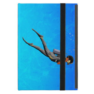 Man SCUBA Diving iPad Mini Cover