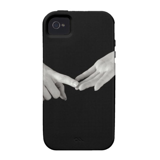 Man signing letter o in British sign language, Case-Mate iPhone 4 Case