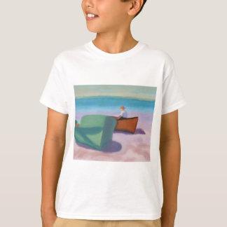 Man Sitting in Boat, T-shirt / Shirt
