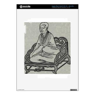 Man sitting in Meditation Pose iPad 3 Skin
