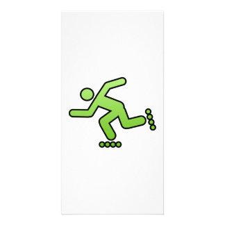 Man Skating Personalized Photo Card