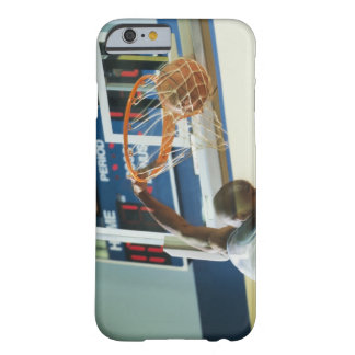 Man slam dunking basketball barely there iPhone 6 case