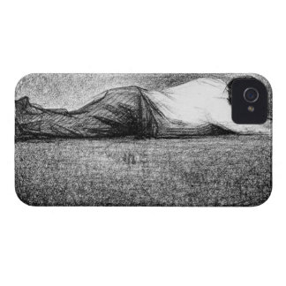 Man sleeping by Georges Seurat Case-Mate iPhone 4 Case