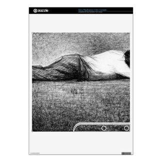 Man sleeping by Georges Seurat PS3 Slim Skins