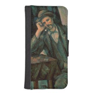 Man Smoking a Pipe iPhone SE/5/5s Wallet Case