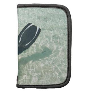 Man snorkeling in clear water organizer