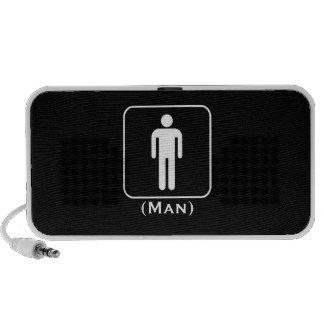 Man Speaker