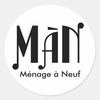 MàN Stickers
