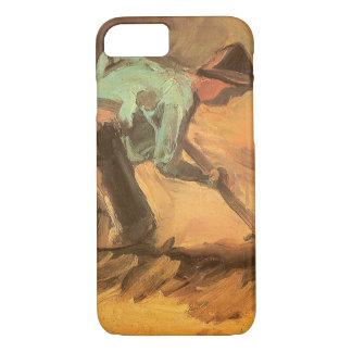 Man Stooping with Stick or Spade, Vincent van Gogh iPhone 8/7 Case