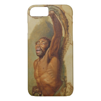 Man Struggling with a Boa Constrictor, Study for ' iPhone 8/7 Case