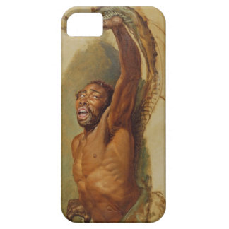 Man Struggling with a Boa Constrictor, Study for ' iPhone SE/5/5s Case