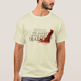"""Man T-Shirt """"The Masque of the Network Death """""""