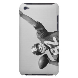 Man throwing football barely there iPod cases