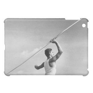 Man Throwing Javelin iPad Mini Cases