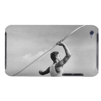 Man Throwing Javelin iPod Touch Case-Mate Case