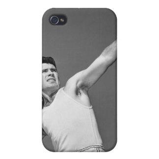 Man Throwing Shotput iPhone 4/4S Cover