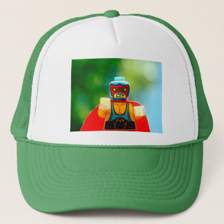 man trucker hat