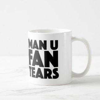 Man U Fan Tears Mug For Liverpool & Man City Fans