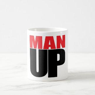 MAN UP COFFEE MUG