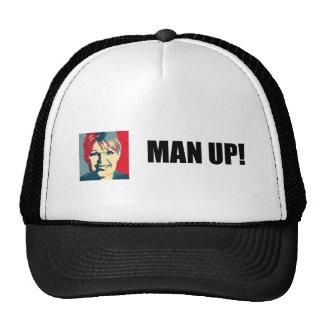 MAN UP TRUCKER HAT