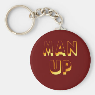 Man Up Keychain