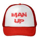MAN UP TRUCKER HATS